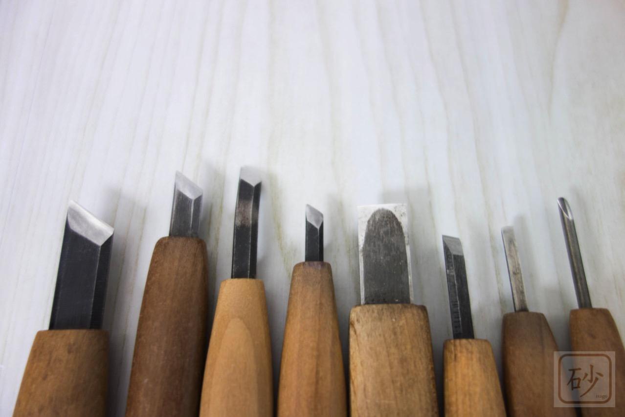 彫刻刀印刀と平刀