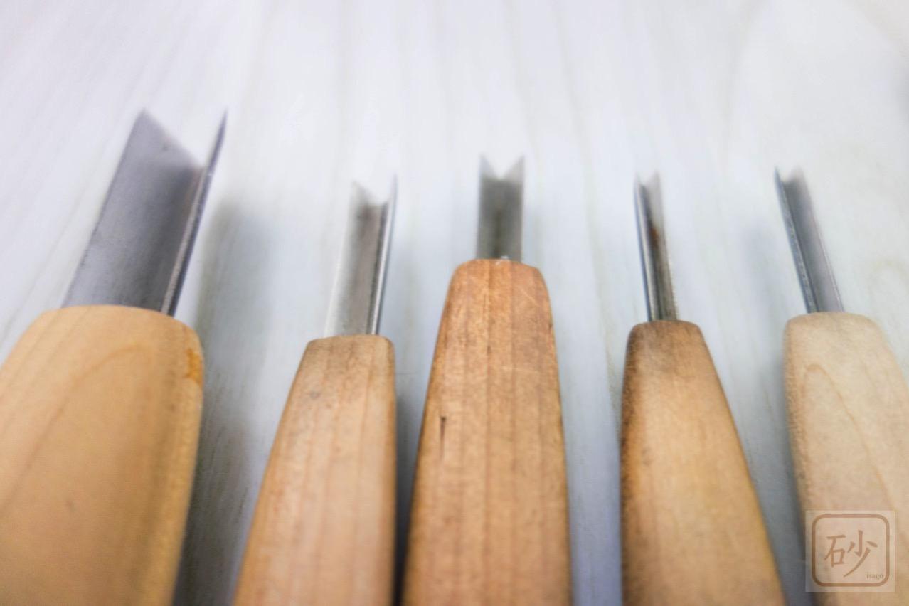 """三角刀彫刻刀"""""""