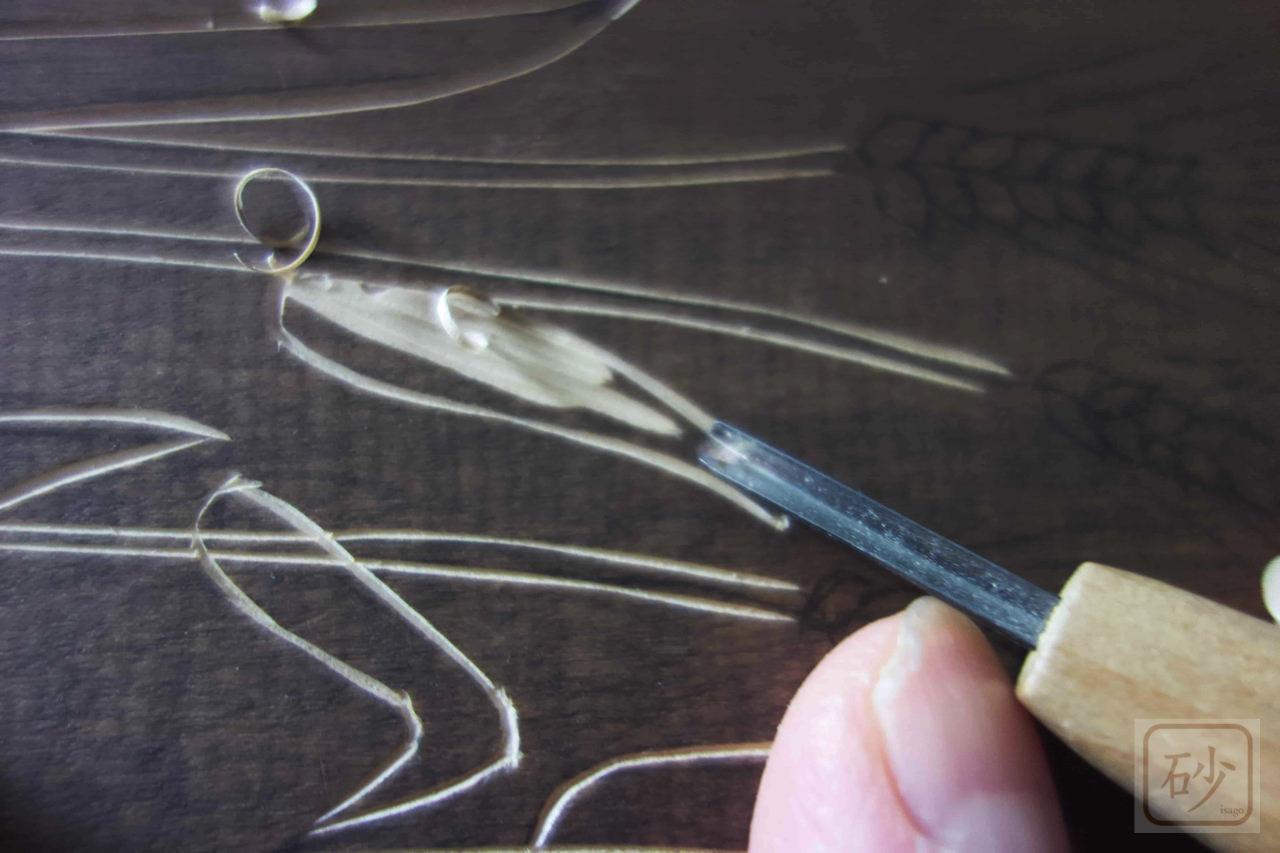 彫刻刀丸刀3mm