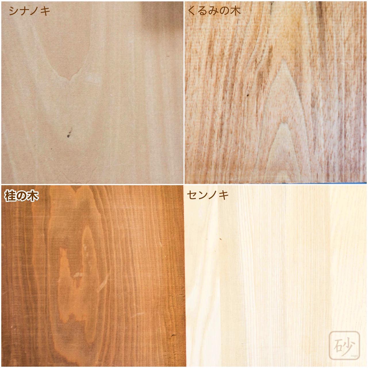木彫りの材料 木材
