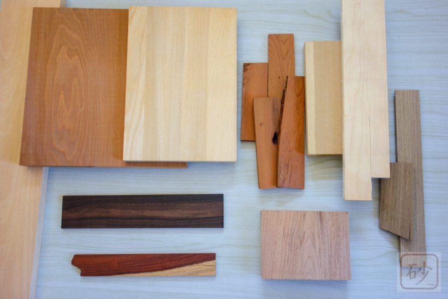 木彫り木材