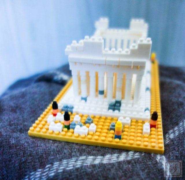 ナノブロック パルテノン神殿
