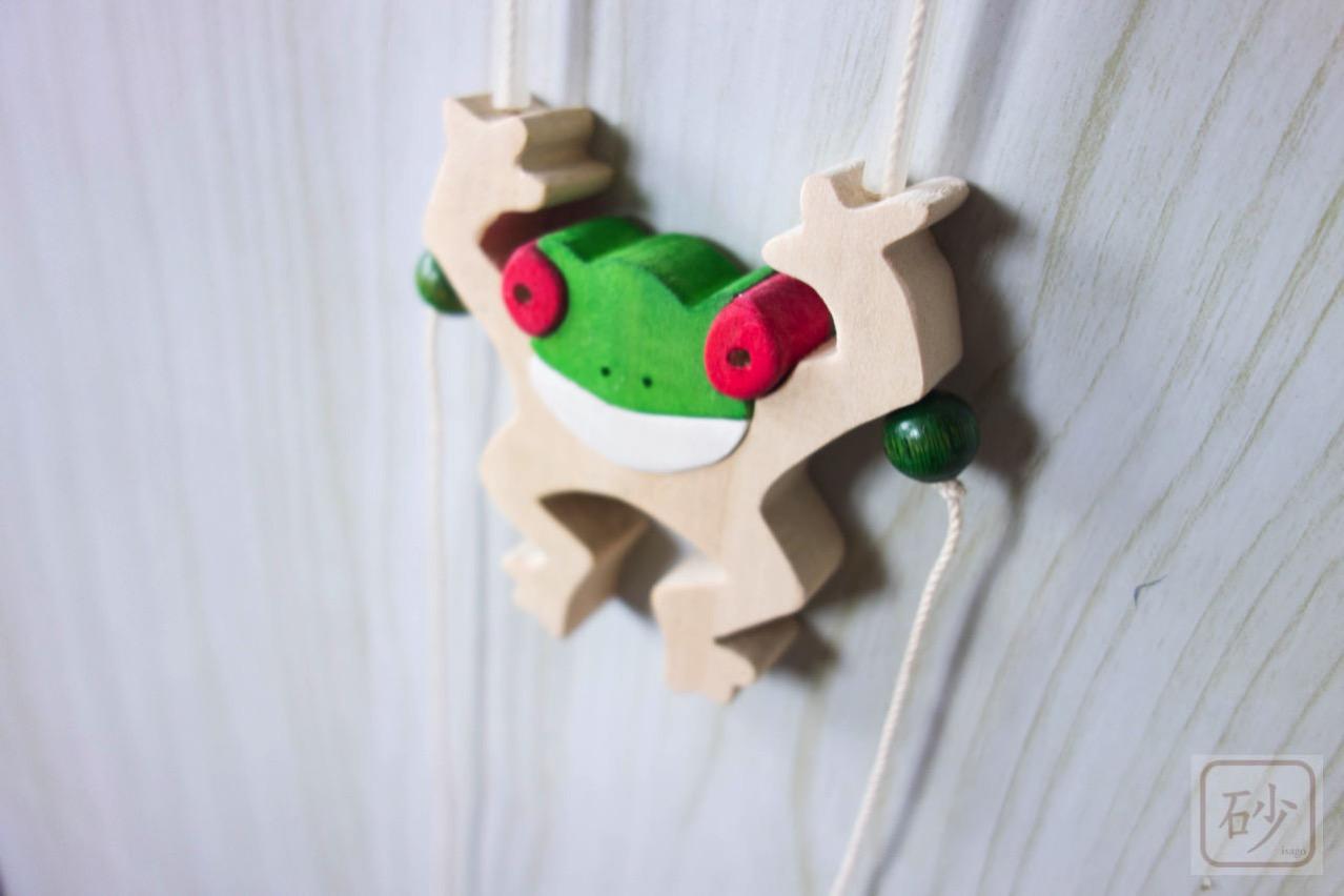 カエルの昇り人形