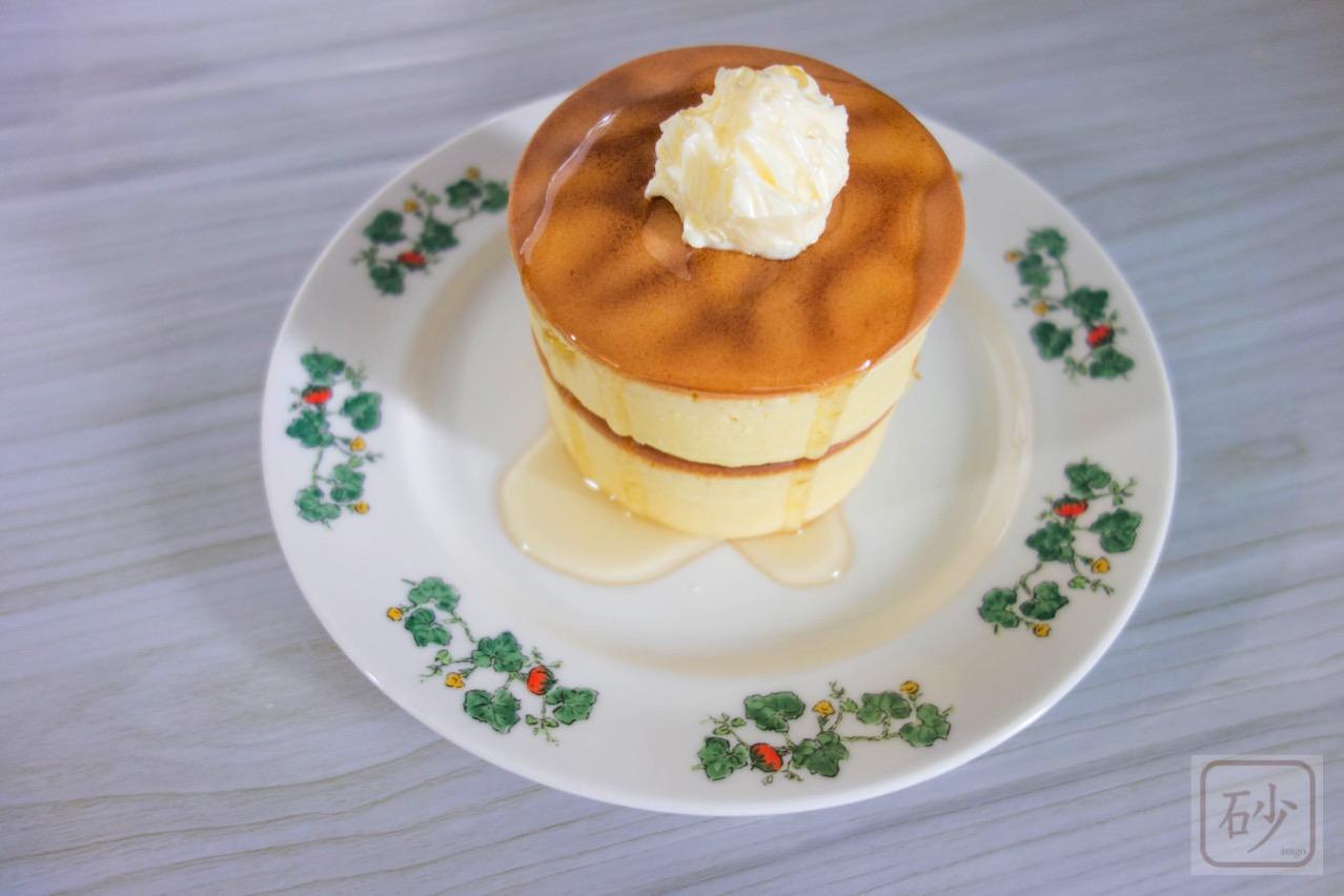 厚焼きホットケーキを作る【今日のおやつ】