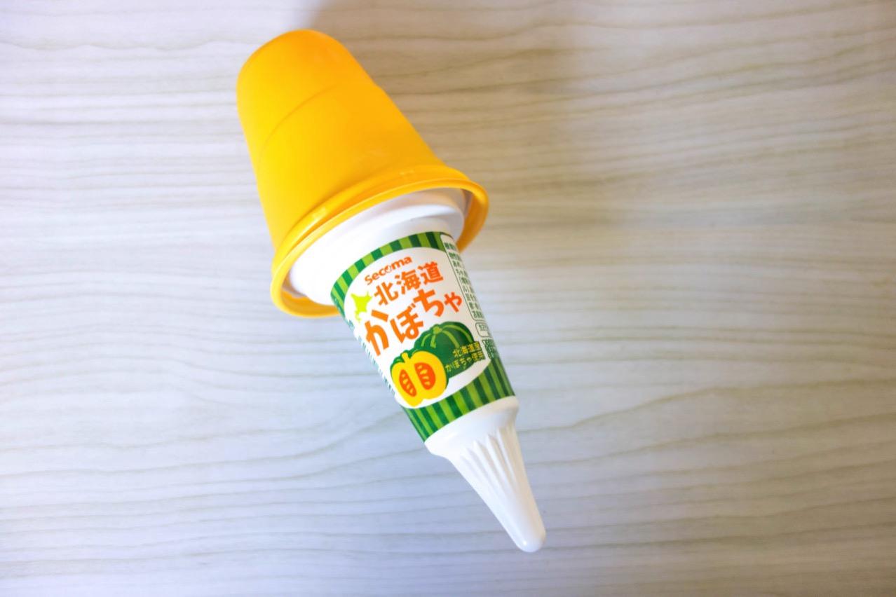 セイコーマート 北海道かぼちゃソフトを食べる【ハロウィン】