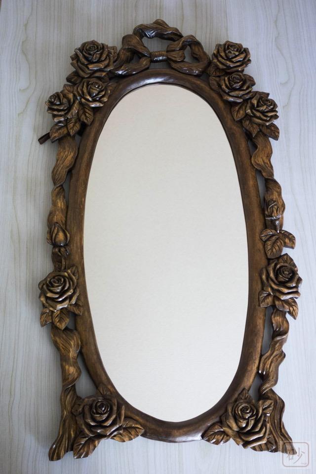 バラの鏡全体