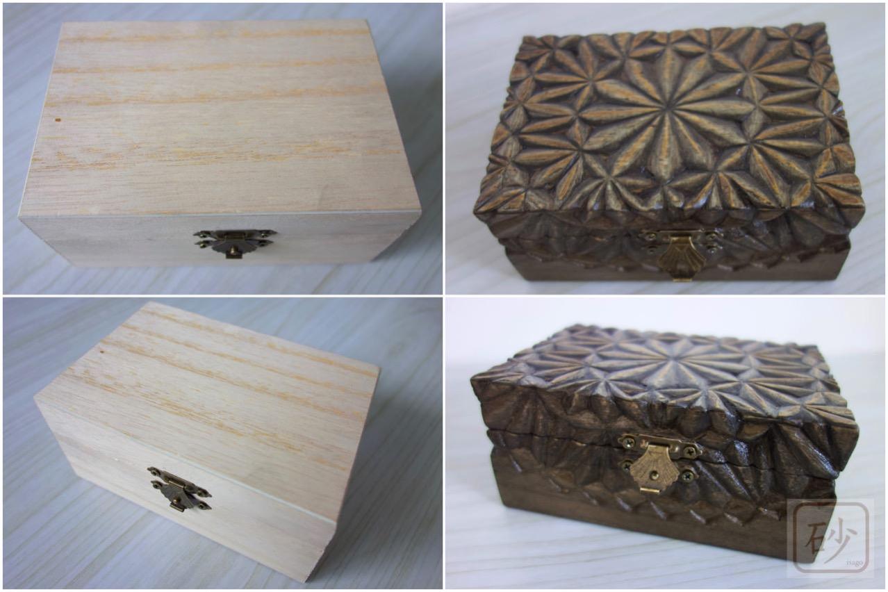 100均の木箱