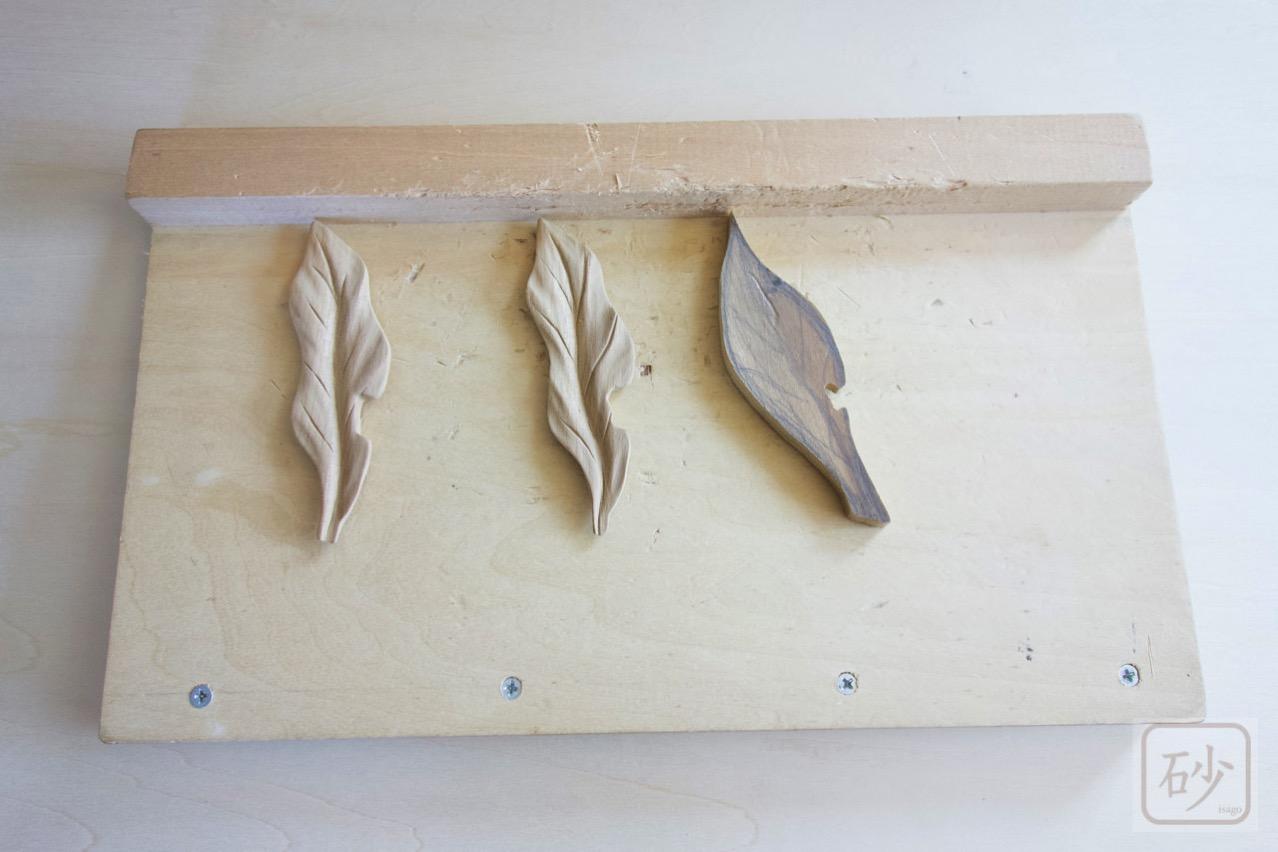 木彫り作業台DIY