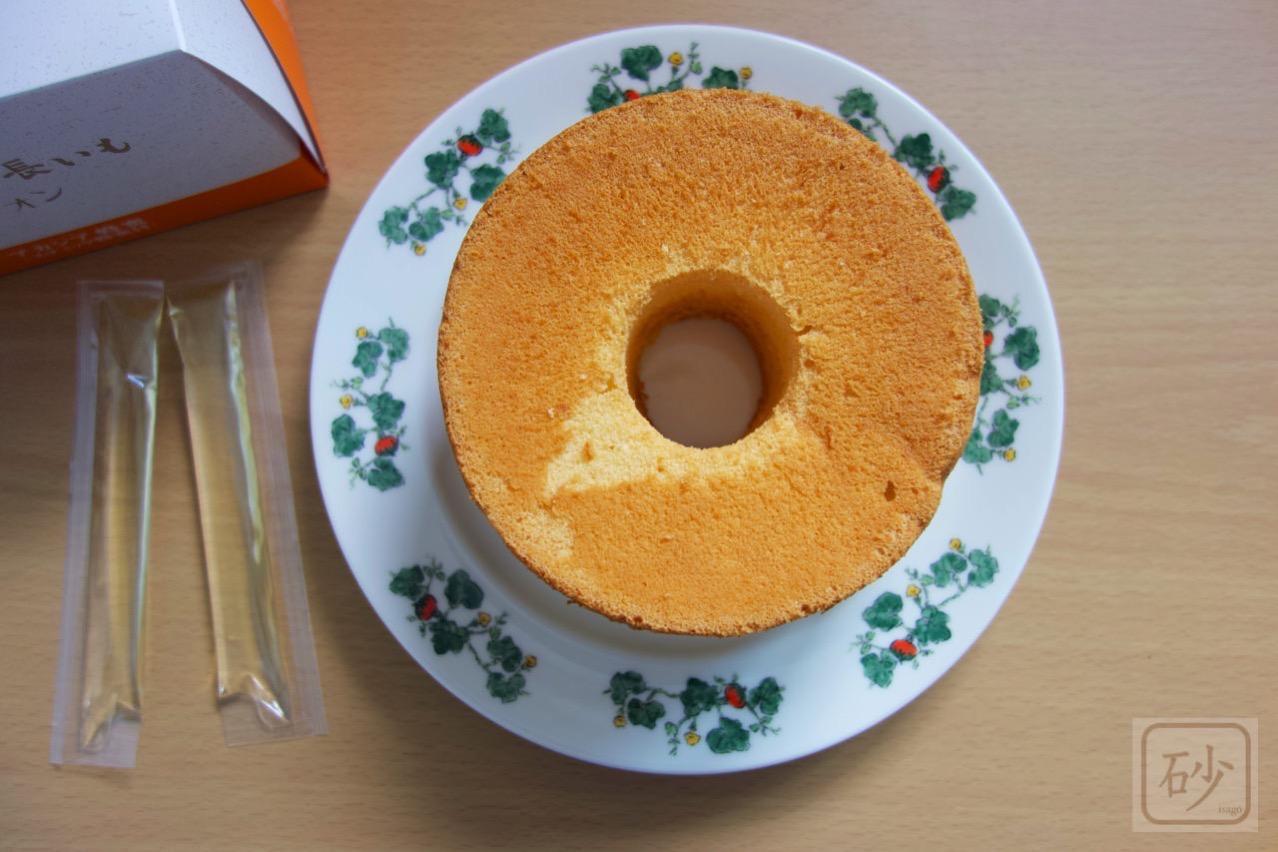 シフォンケーキ アカシア蜂蜜