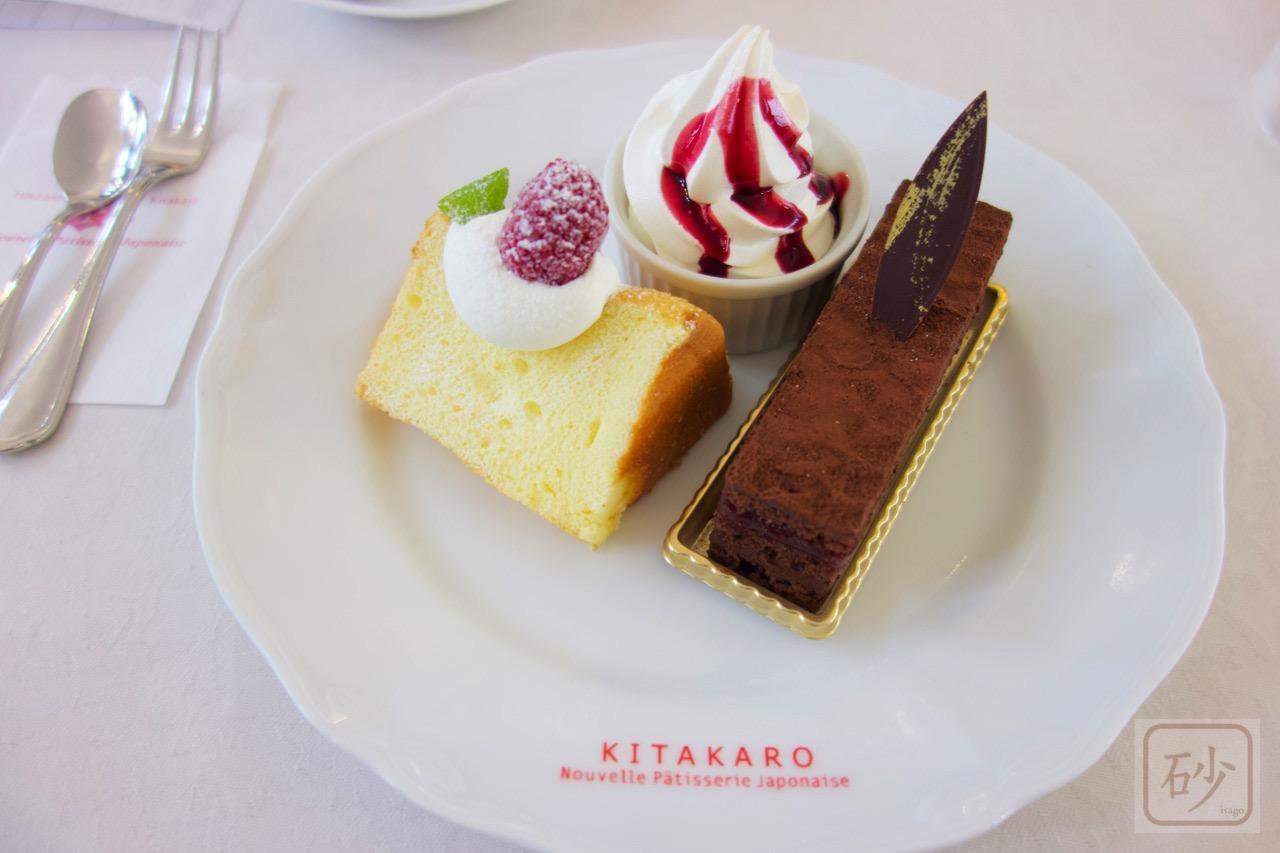 北菓楼札幌本館ケーキセット