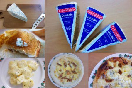 【実食!】ブルーチーズの美味しい食べ方を探す  Danablu