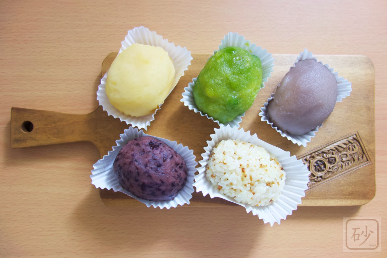 六花亭 おやつ屋さん9月 おはぎを食べる 2019