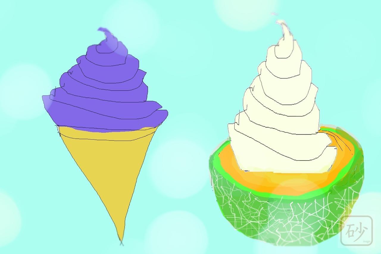 ソフトクリームイラスト