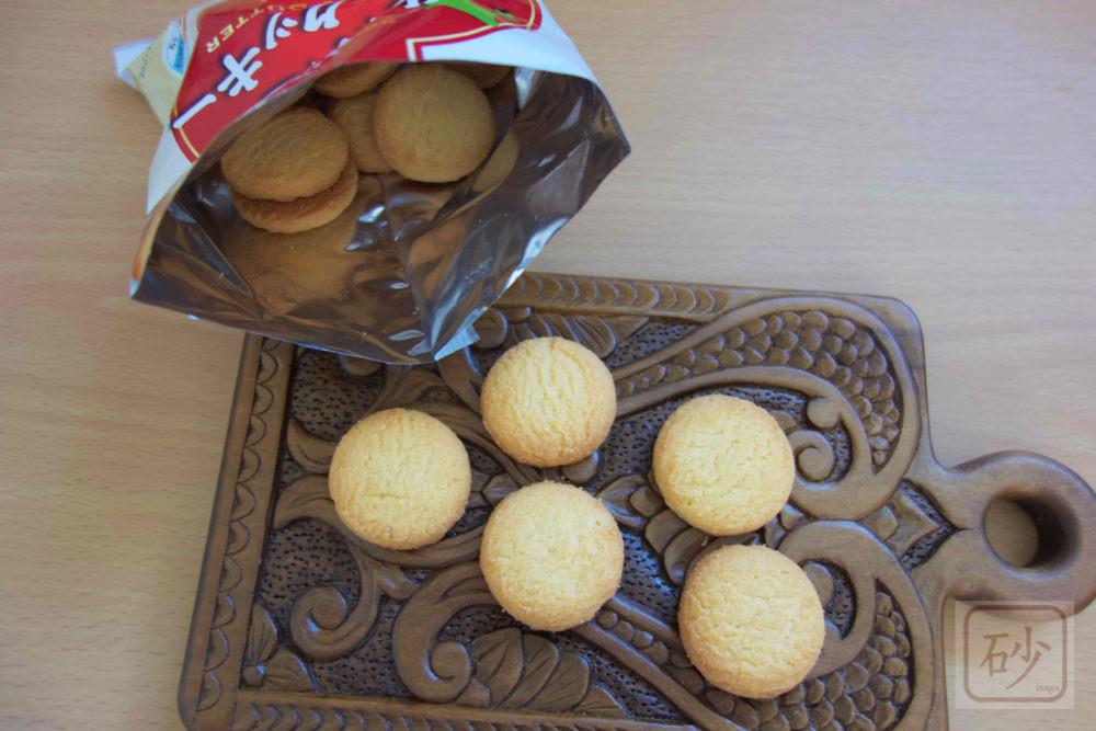 secoma北海道バタークッキー