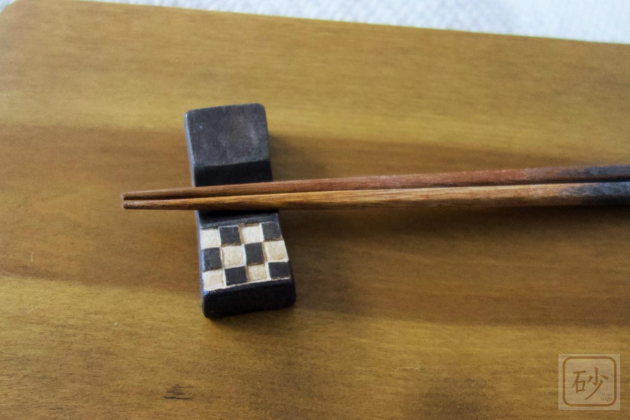 鬼滅の箸置きを作ってみた【木彫り】