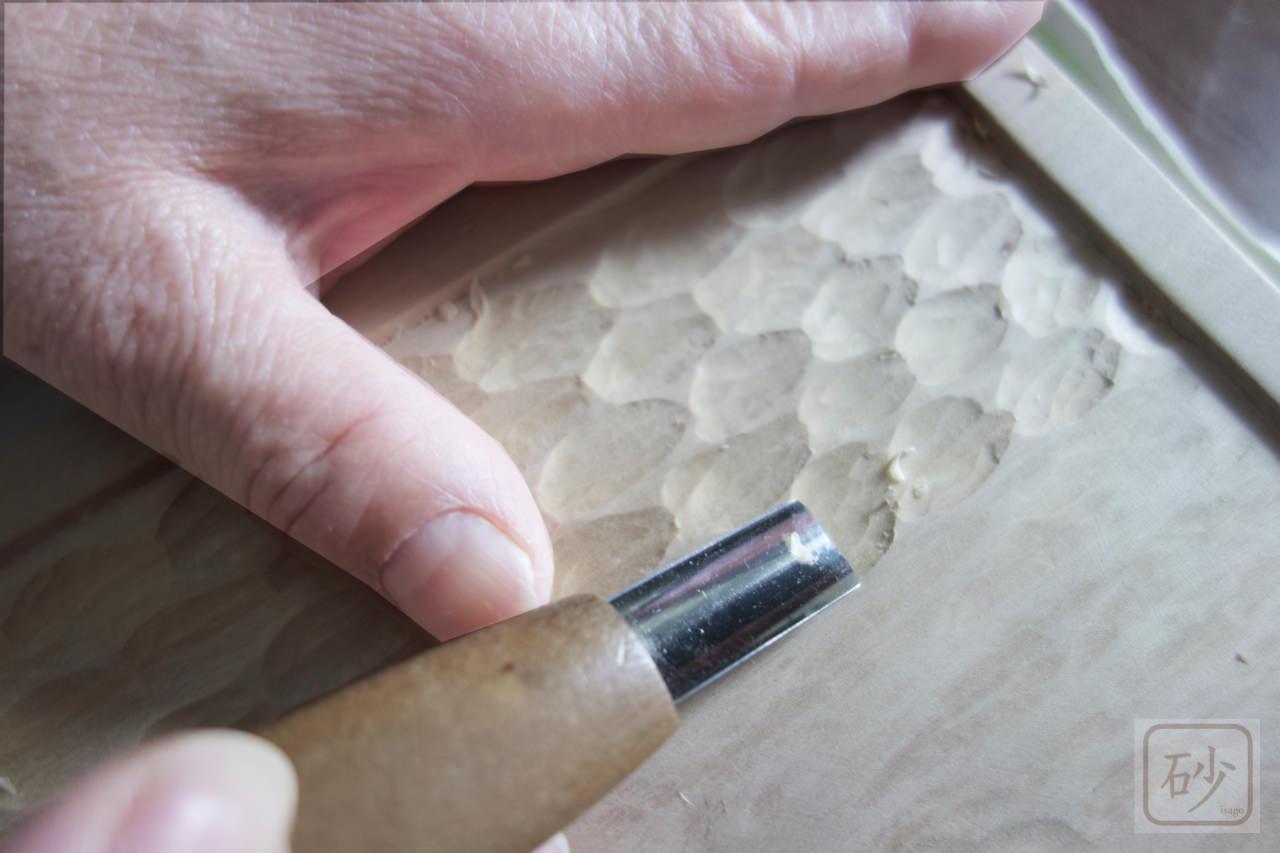 木の彫り方 石目彫り【動画あり】