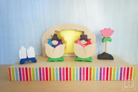 組み木雛人形