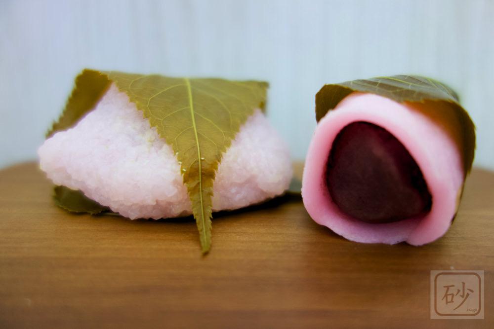 桜もち 関東風の長命寺を初めて食べる【桃の節句】
