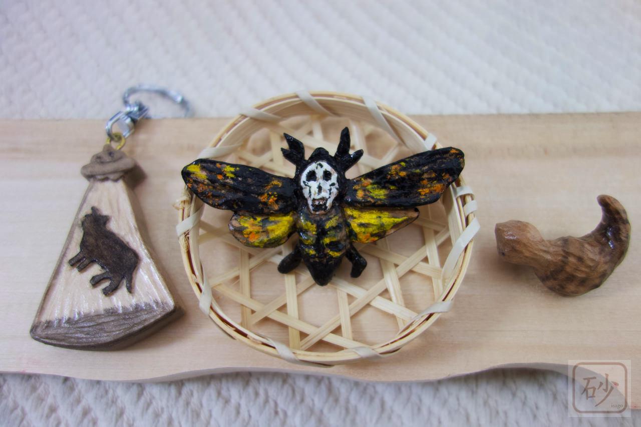 木彫りのオカルトアクセサリー3種を作ってみた