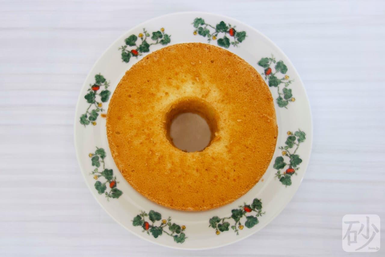 六花亭シフォンケーキ