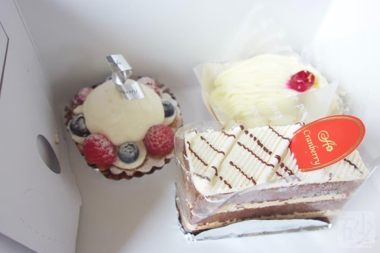 クランベリーケーキ