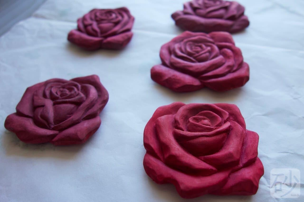 木彫り薔薇
